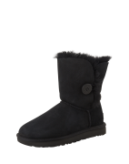 UGG, Dames Snowboots 'Bailey Button II', zwart