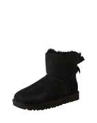 UGG, Dames Snowboots 'Mini Bailey Bow II', zwart