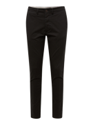 JACK & JONES, Heren Chino 'JJIMARCO JJENZO', zwart
