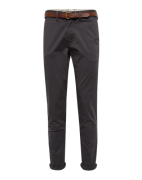 JACK & JONES, Heren Chino 'JJICODY JJSPENCER WW DARK GREY NOOS', donke...