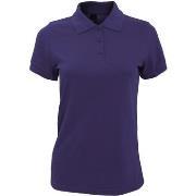 Polo Shirt Korte Mouw Sols 10573