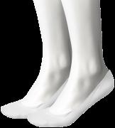 Tommy Hilfiger Chaussettes WOMEN REGULAR STEP en blanc