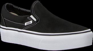 Vans Baskets CLASSIC SLIP-ON  PLATFORM CLAS en noir