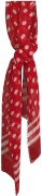 Romano Shawls Amsterdam Foulard SHAWL DOTS en rouge
