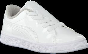 Puma Baskets BASKET CRUSH PATENT AC en blanc