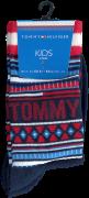 Tommy Hilfiger Chaussettes TH KIDS SOCK 2P MULTI COLOR en rouge