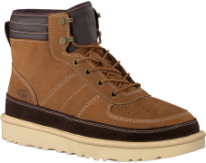 UGG Bottines à lacets HIGHLAND SPORT en cognac