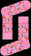Happy Socks Chaussettes PINK PANTER BOMB VOYAGE SOCK en blanc