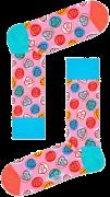 Happy Socks Chaussettes SWEET HEARTS en rose