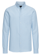 NEW LOOK, Heren Overhemd 'RP 39 11.08 MW OXFORD SHIRT P', lichtblauw