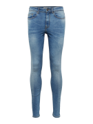 NEW LOOK, Heren Jeans 'RPASO 06.04.18 JON BLUE SUPER SKINNY', blauw de...