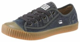 G-STAR RAW, Heren Sneakers laag 'Rovulc washed low', blauw denim