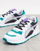 Puma RS 2.0 trainers in white and blue